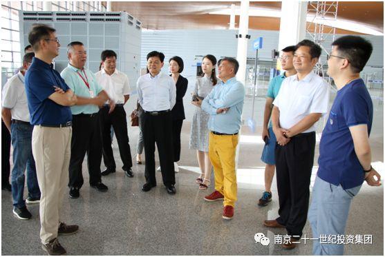 许尚龙董事长考察金山福彩3d走势图专业版,就文旅方向达成合作