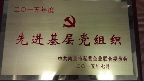 2015年度先进基层党组织