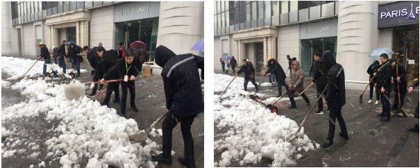 【商管】雨雪天的美丽风景——二十一世纪员工的勤勉、坚守、敬业